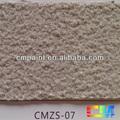Cmzs- 07 multi color acrílico resina impermeável pedra natural pintura textura para a parede exterior