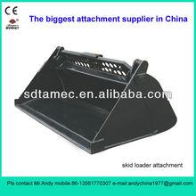 skid steer loader attachment 4 in 1 bucket (skid loader attachment,bobat attachment,attachment)