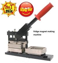 65*90mm new type of Fridge Magnet Making Machine/fridge magnet maker/rectangle button making machine