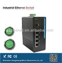 Managed Industrial ethernet switch POE converter 12 port gigabit switch