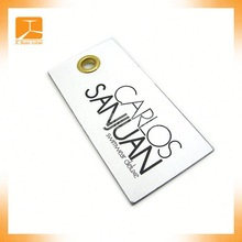 2014 newest custom plastic hang tag / paper hang tag / plastic hang tags adhesive