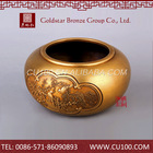 Competitive price oem religious brass useful professional chinese traditional art