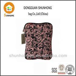 Cheap pomotion best full color print neoprene sleeve case for ipad air