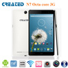 New arrival 7 inch tablet dual sim MTk6592 Octa core tablet with 3g phone call