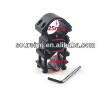 Adjustable Tactical Ar15 universal Gun Qd Light Barrel 25mm Ring Mount