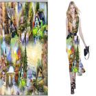 Wholesale patterned cotton canvas fabrics For Garment