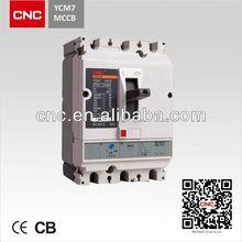 YCM7 mcb mccb circuit breaker rccb earth leakage