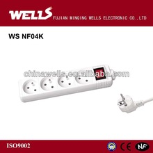New style French power strip socket and switch
