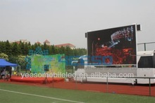YEESO Football games and competiton mobile advertising truck with big LED screen