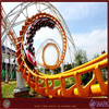Amusement park ride roller coaster