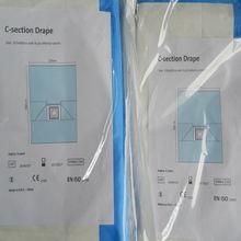 C- seção de cortinas, cirúrgica