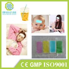 2014 hot selling cooling gel patch for children fever