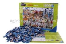 2015 New Design London Beauty City 1000 PCS paper JIgsaw Puzzle