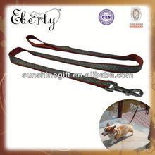 A4 series flat optical fiber pink light-emitting pet collar and leash