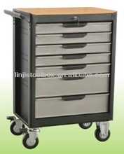 """27"""" wide 7drawers metal tool cabinet with pegboard"""