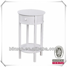 Best quality new arrival wooden dresser table with stool