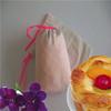 small plastic drawstring gift bag/recyclable cotton drawstring bag