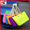2015 spring summer hot selling candy silicone bag manufacturers custom waterproof silicon beach bag