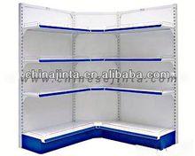 adjustable 5 shelves fittings rack supermarket shop display