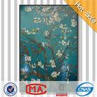 High quality glass mural mosaic , ocean world mural mosaic tiles , red flower wall mural for bathroom tile