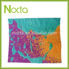 OEM digital printing microfiber cloth for promotion