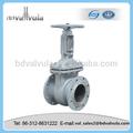 Industrial de aceite tubo de la válvula de compuerta de