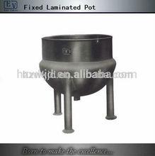 Fixed laminated sugar cooker/cooking pot