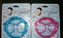 crazy Glasses drinking straws