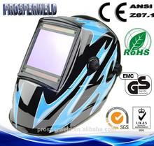 2015 New Design product Auto Darkening Welding Helmet En379 high quality