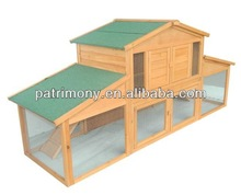 Solid Wood Layer On Line Chicken Cages