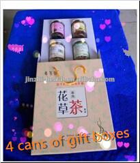 Four flavour flowering tea