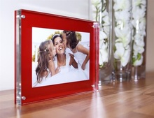 Elegant Acrylic Material Magnetic Picture Photo Frame