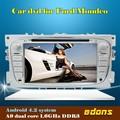 7'inch sistema de navegação gps construído em bluetooth android de dvd do carro para ford mondeo