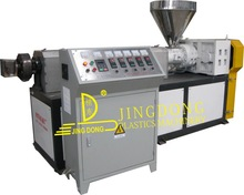 easy use and high out-put PVC compounding extrusion machine on shelf
