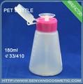 180ml pet plástico gatilho pulverizador de garrafa pet