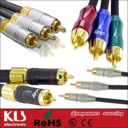 cable mini usb a rca UL CE ROHS 179