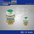 22mm 1 cerca de lo normal illuminaed pulsador/montaje en pcb de interruptor de botón