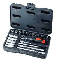"1/4""DR 23PCS SOCKET SET E WRENCH"