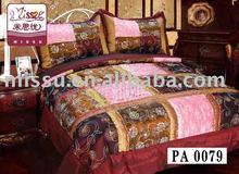 100% cotton Taffeta patchwork bedsheet