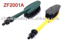 car wash brush,water flow through car brush,car water flow brush