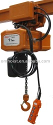 380V 50HZ 3P Electric Chain Hoist with trolley/electric chain hoist
