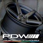 C-SPEC Deep Concave-PDW Dynamics Series-WHEELS FIVE spoke racing style wheels