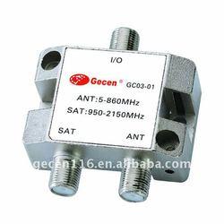 SAT/ANT Diplexer GC03-01/Diplexer/Mixer/Combiner