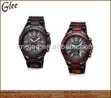 Fashion Luxury Sport Analog Quartz Clock Women Mens Wooden Wrist Watch
