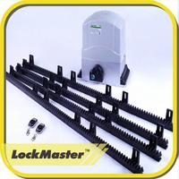 Automatic sliding gates operator/motor operated sliding gate/gate valves gear operated