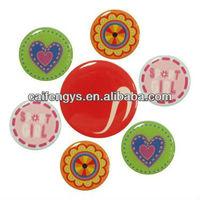 crystal epoxy sticker