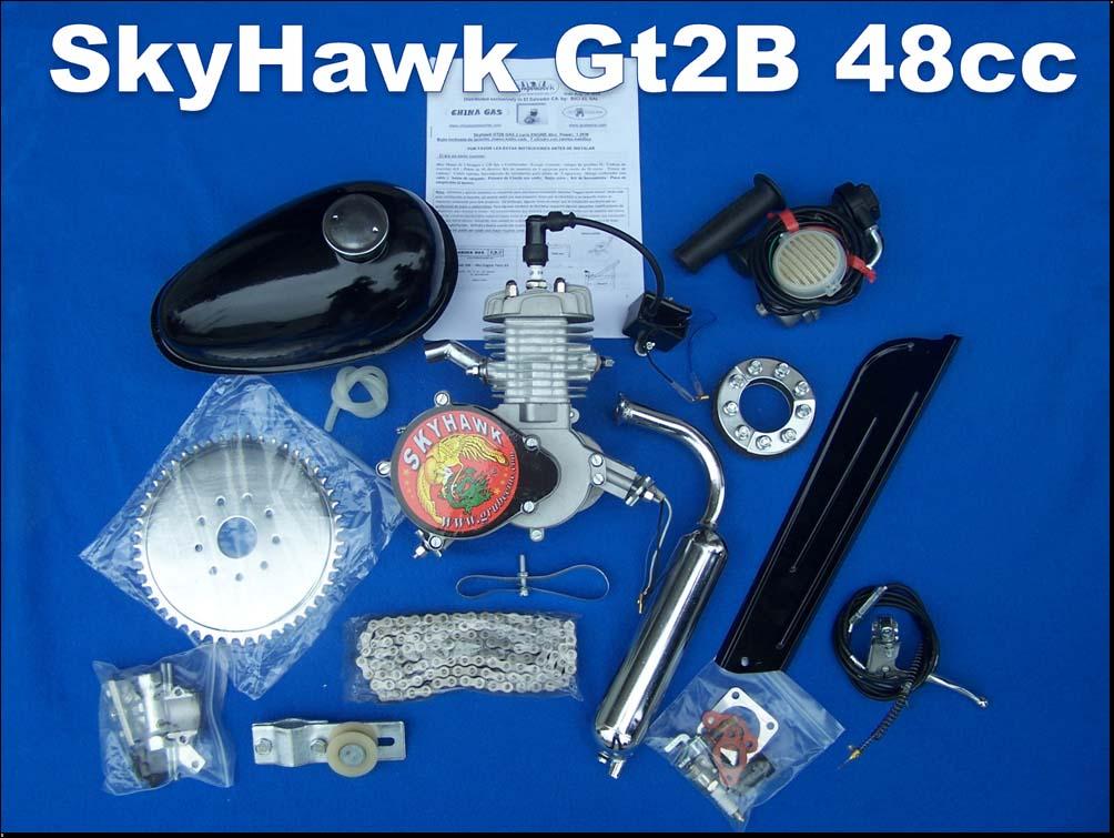 SkyHawk bike engine kit 48cc & 66cc