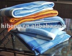rotary printed fleece blanket