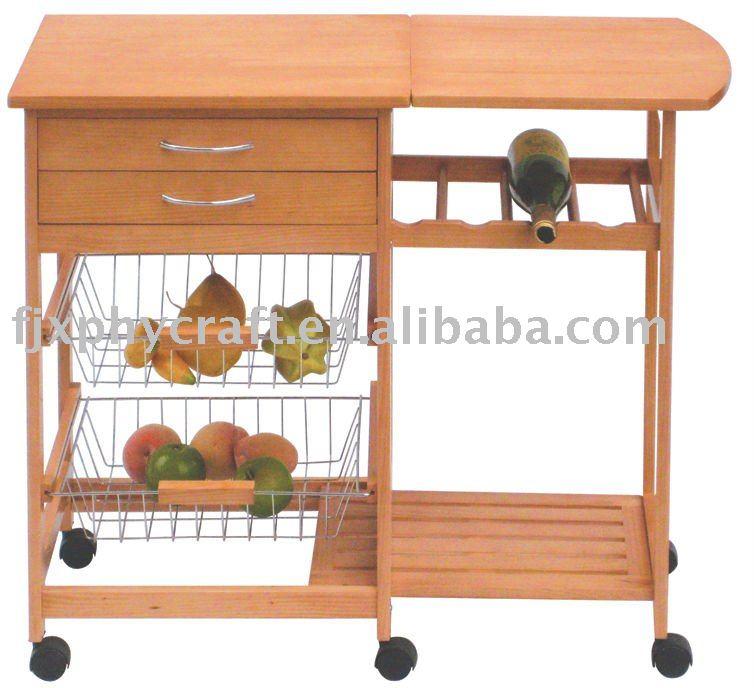 legno pieghevole carrello da cucina mobili per cucina id prodotto