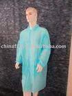 SBPP hospital uniform,PP lab coat ,Non-woven lab coat,Blue,3XL